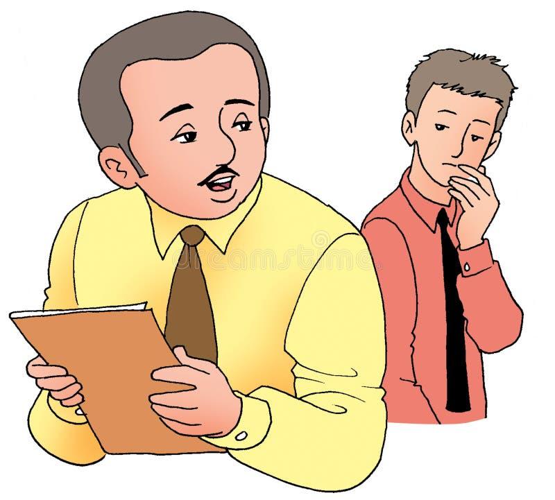 Supervisor vector illustration