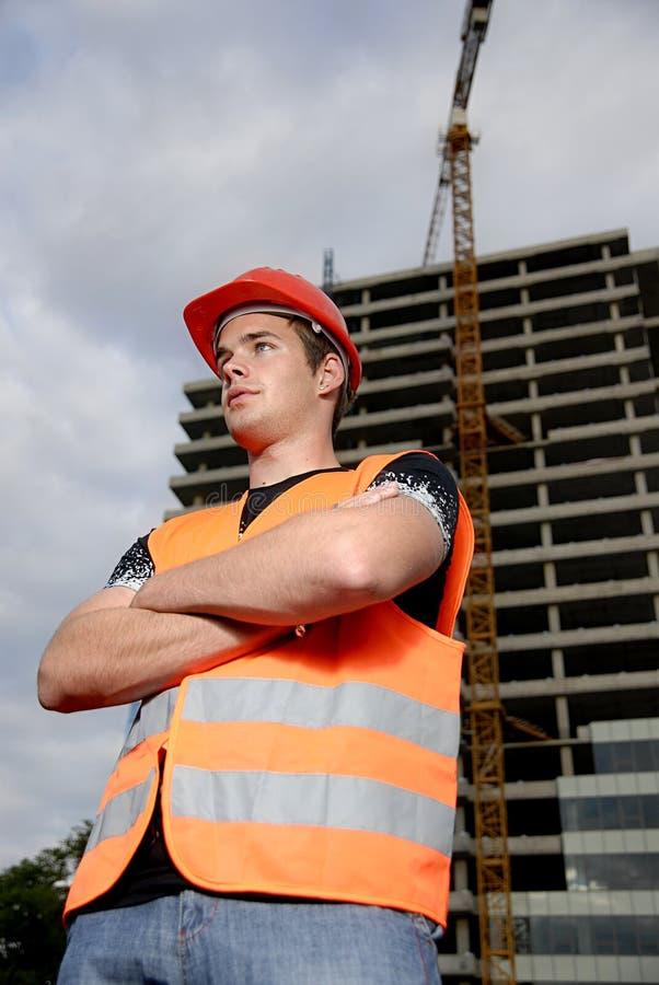 Supervisore della costruzione immagine stock libera da diritti