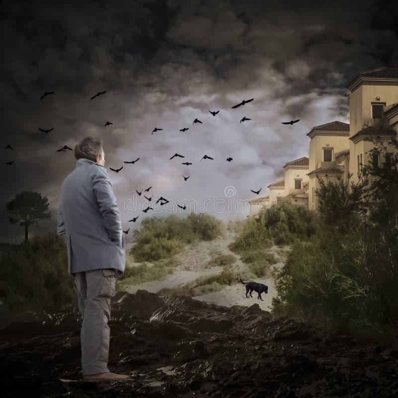 Supervivencia de la apocalipsis imagen de archivo libre de regalías
