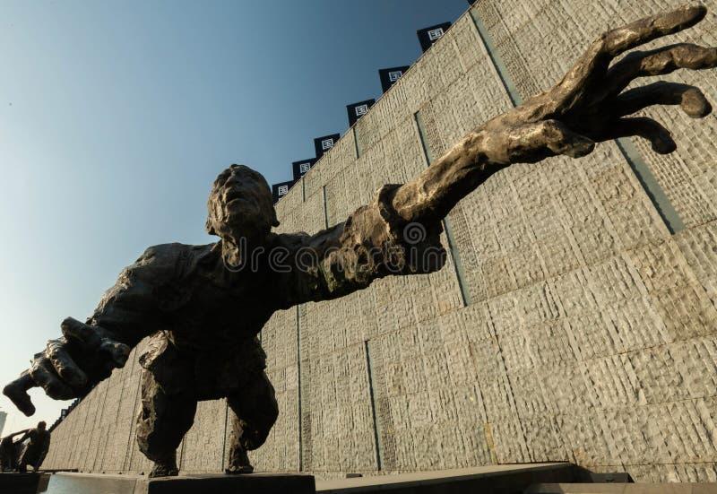 Supervivencia de la escultura imagen de archivo