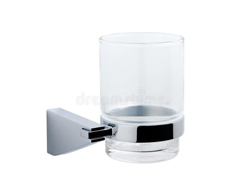 Suporte de vidro de alumínio agradável fotos de stock