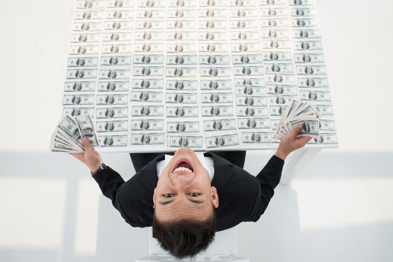 Suporte do dinheiro imagens de stock royalty free