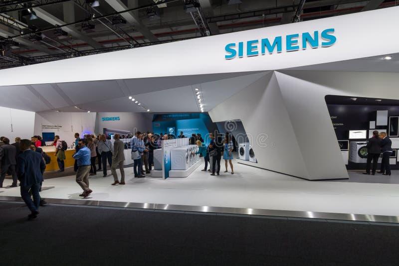 Suporte por Siemens imagem de stock