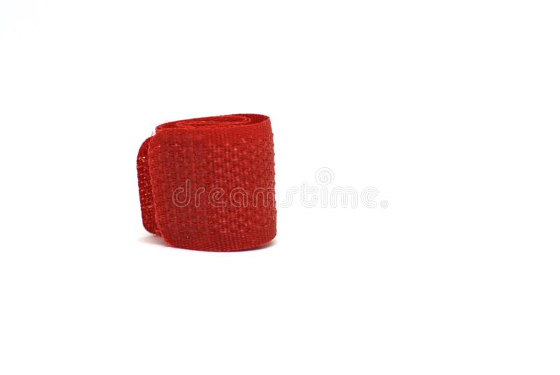 Suporte vermelho do cabo fotografia de stock