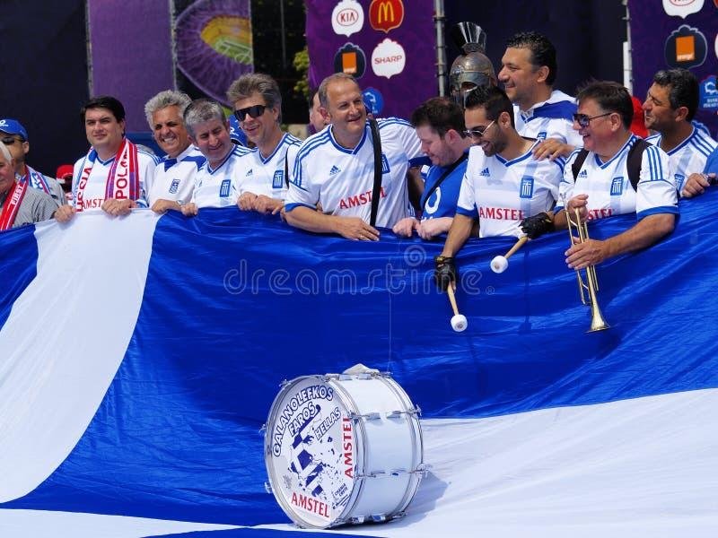 Suportes gregos foto de stock