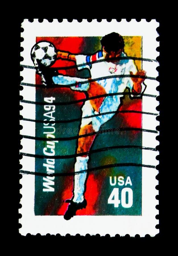 Suposição Bola, serie de 1994 campeonatos do futebol do campeonato do mundo, circ imagens de stock