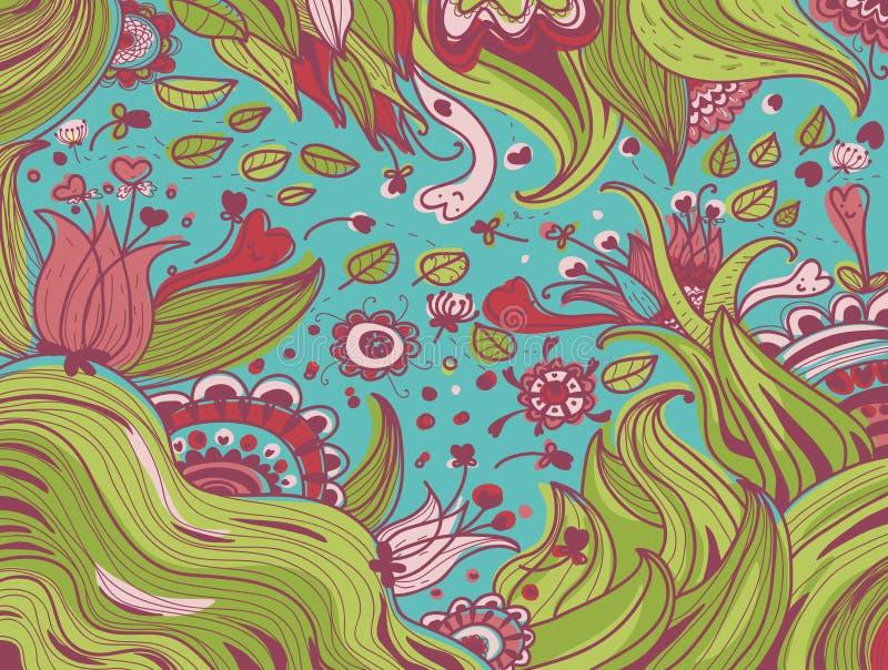 Suposición de la naturaleza libre illustration