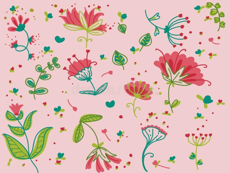 Suposición de la primavera stock de ilustración