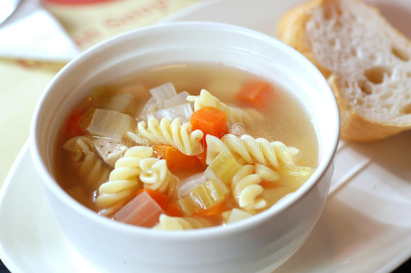 Suppe stockbild