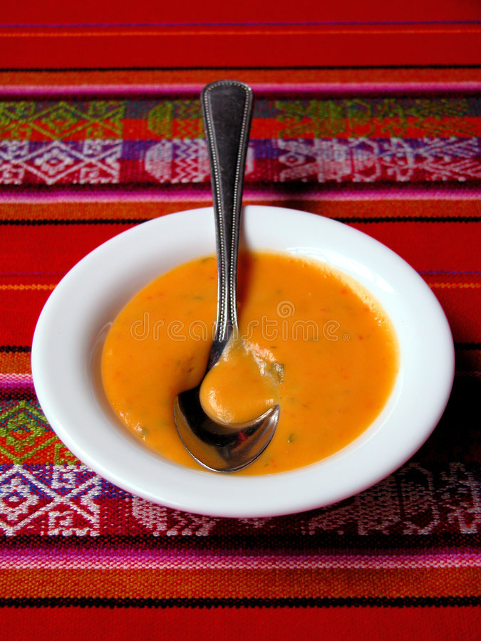 Suppe stockfotografie