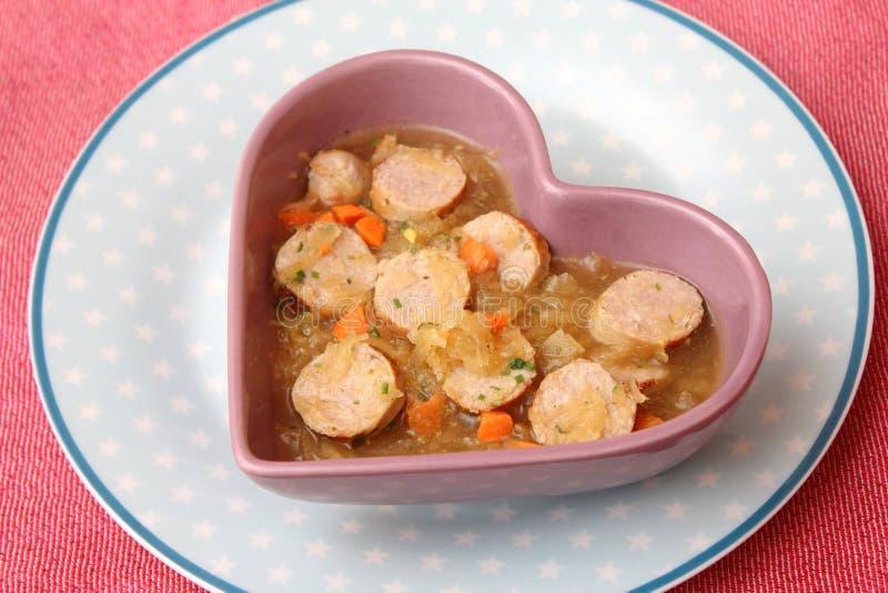Download Suppe des Kohls stockfoto. Bild von kohl, schweinefleisch - 90226322
