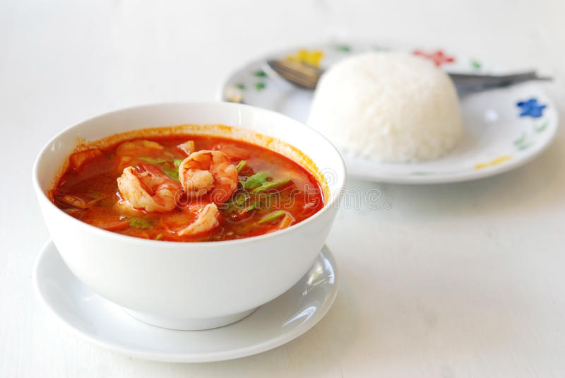 Suppe Tom-Yum lizenzfreies stockfoto