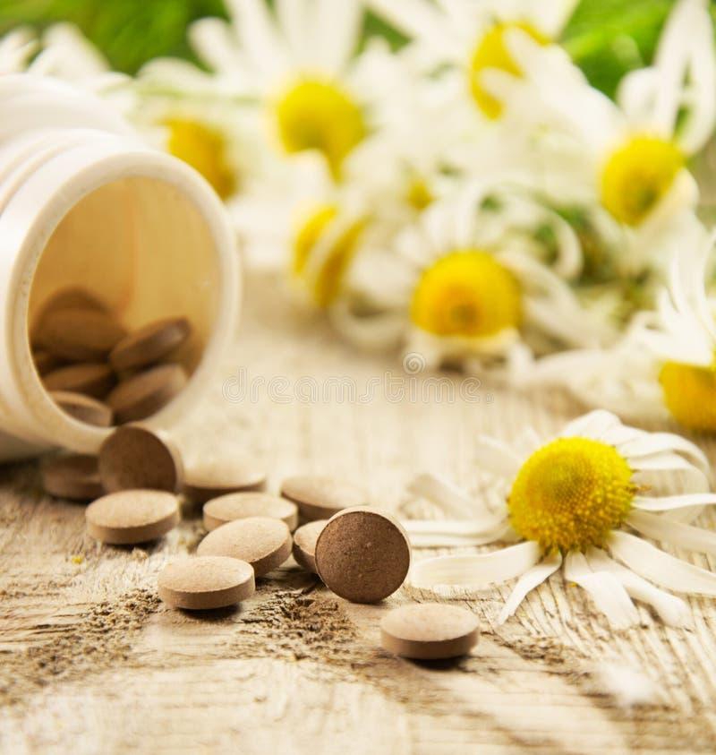 Supplementi dietetici fotografia stock