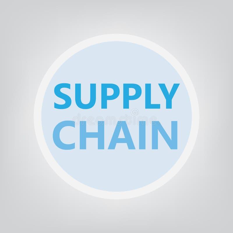 Supply chain concept vector illustration
