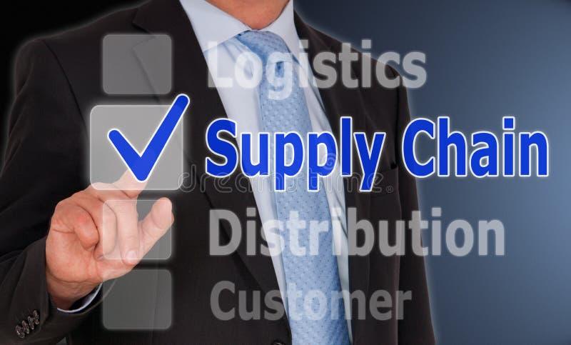 Supply chain management photo libre de droits