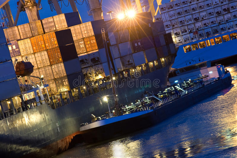 Download Supply vessel stock photo. Image of fuel, stacks, alongside - 9436222