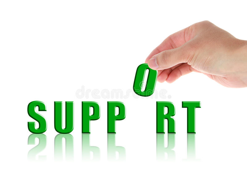 Support stockfotografie