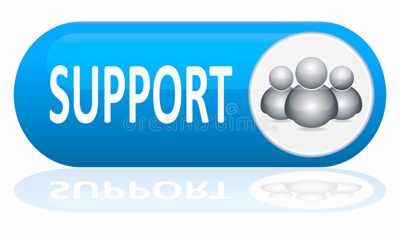 Download Support banner stock illustration. Image of isolated - 20558935