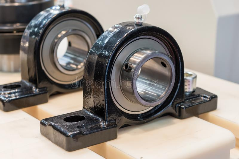 Support bearing assembly. stock images