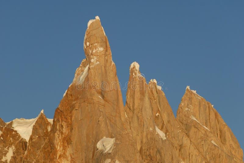 Support Cerro Torre. photos libres de droits