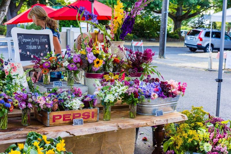 Support de fleur photo libre de droits