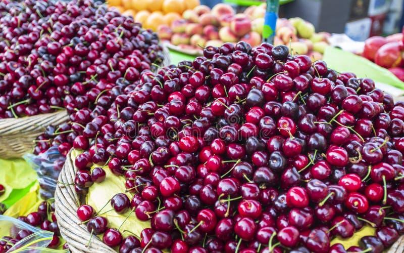 Support de fruit dans le quai de Fishermans, San Francisco, la Californie photo libre de droits