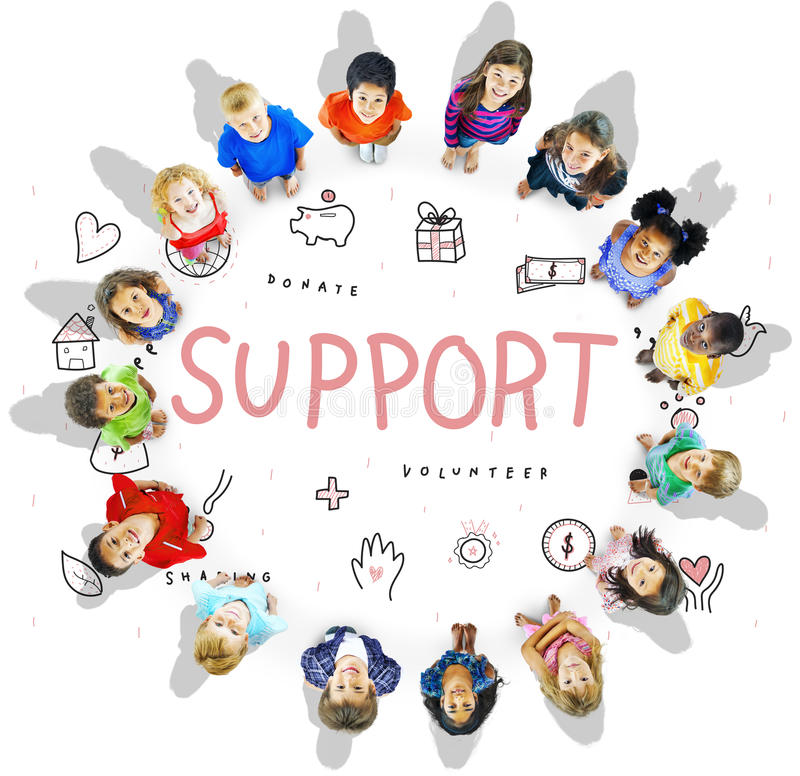 Support Donations Charity Foundation Concept royalty free stock photos