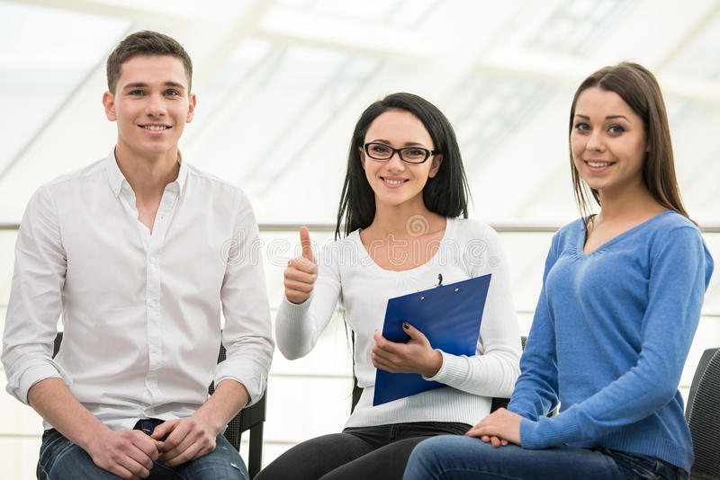 Support Group. Meeting of support group, group discussion or therapy royalty free stock image