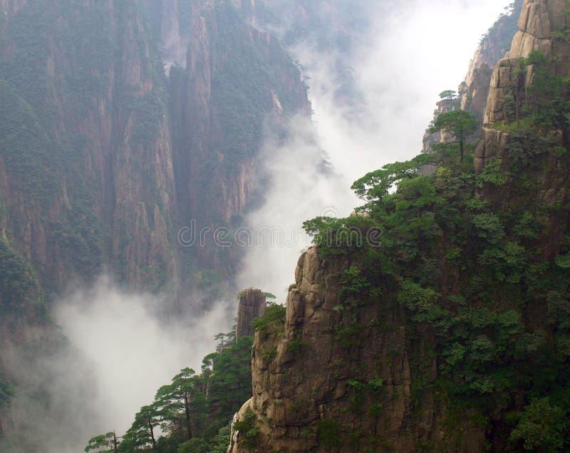 Support huangshan photographie stock libre de droits
