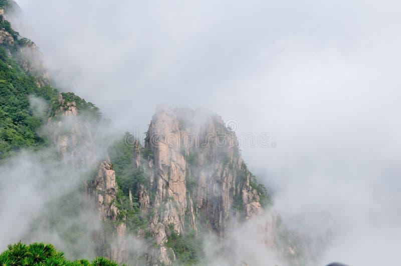 Support Huangshan image libre de droits