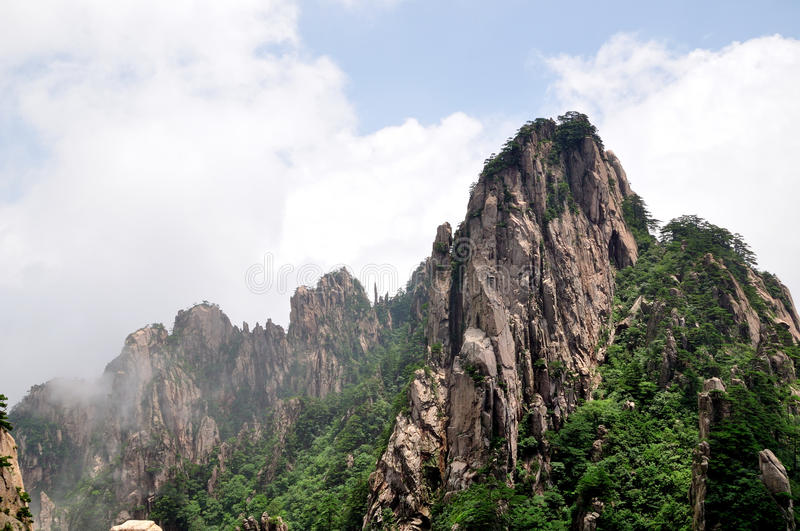 Support Huangshan photo stock