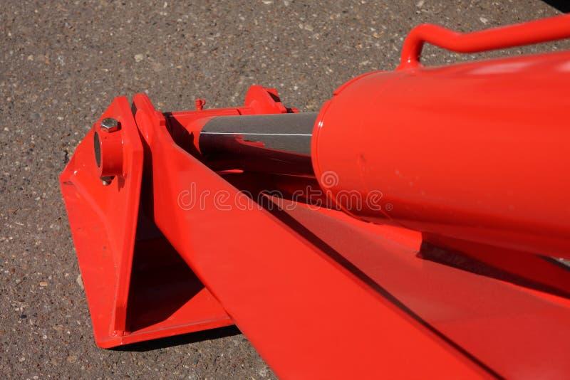 Support hydraulique photographie stock libre de droits