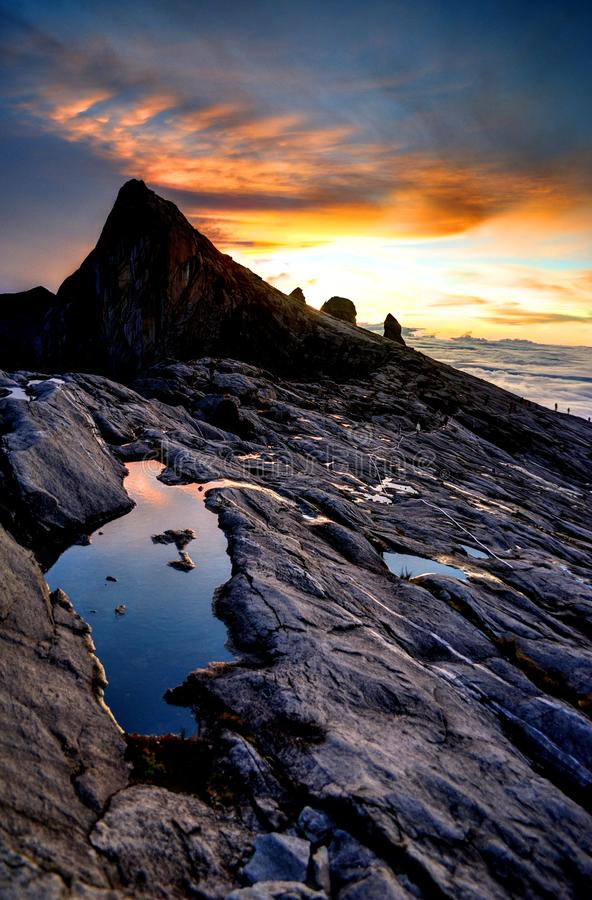 Support Kinabalu photos libres de droits