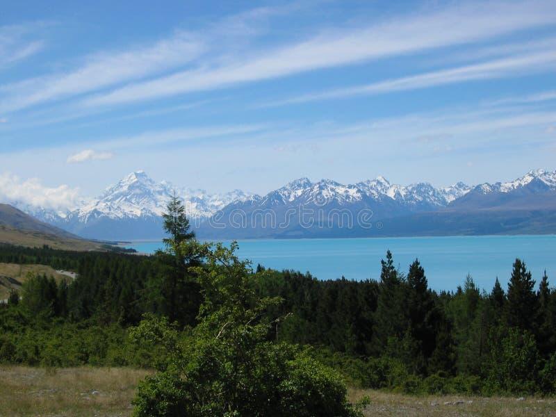 support Nouvelle Zélande de cuisinier photographie stock