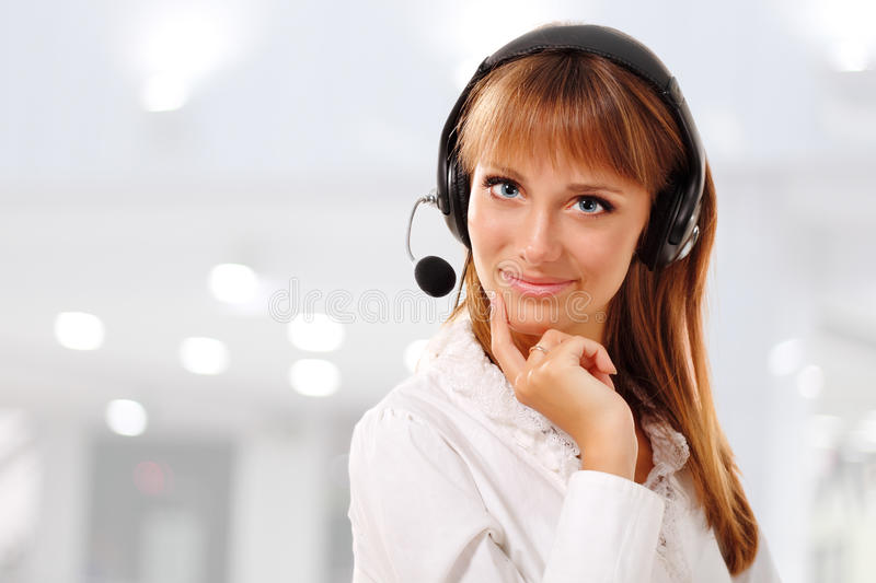 Download Support phone operator stock photo. Image of operator - 20147780
