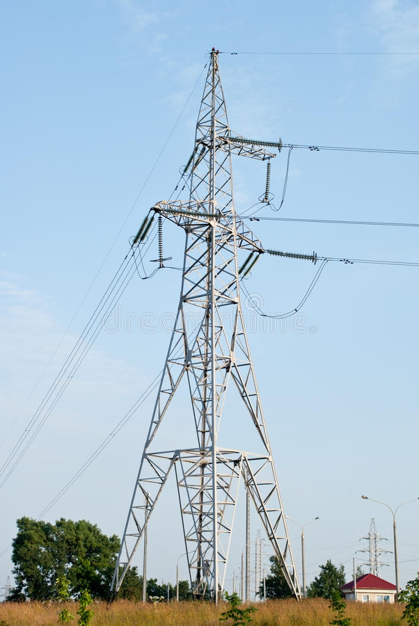 Support of power line