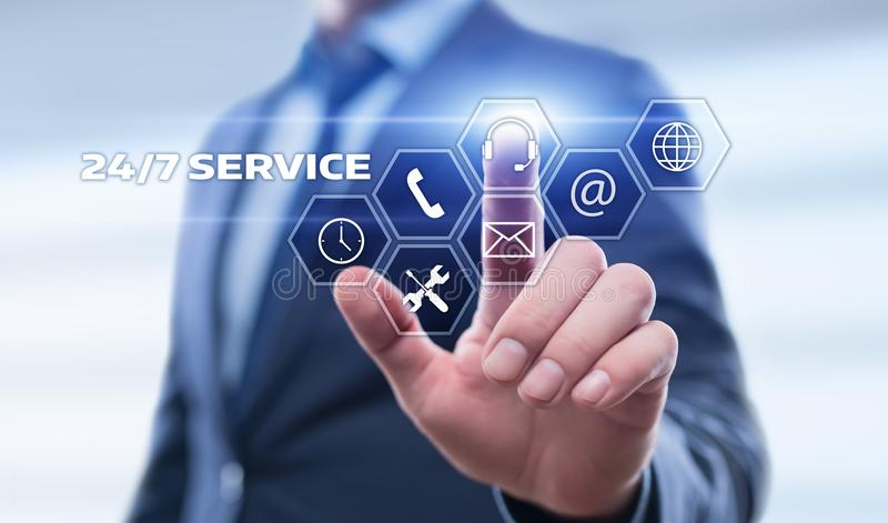 Support Service Customer Help Assistance Business concept.  stock photos