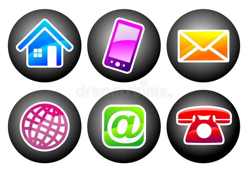 Support Signs Stock Illustration Illustration Of Button 36270931