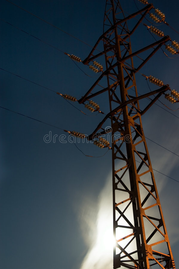 Download Support Of A Transmission Line Stock Photo - Image: 7169918