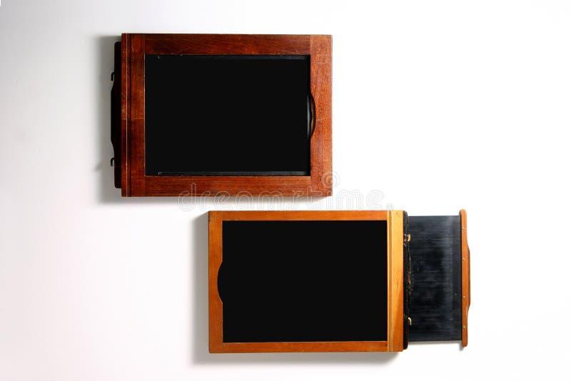 supporti della pellicola 4x5 fotografia stock libera da diritti