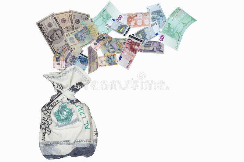 Download Supporting the currency stock image. Image of currency - 28935589
