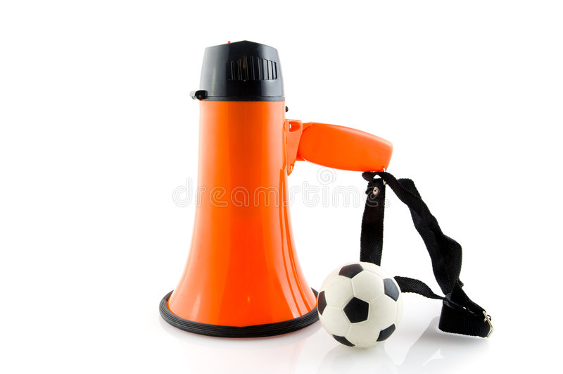 Supporting The Dutch Soccer Team Stock Photography