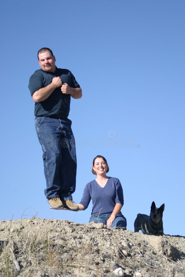 Supportive Wife royalty free stock photos