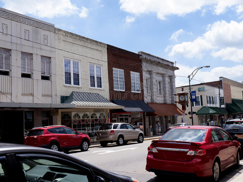Supporto Airey o Mayberry in Nord Carolina U.S.A. fotografie stock