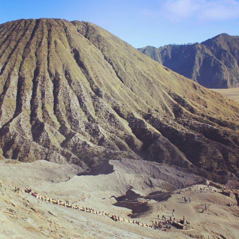 Supporto Bromo Indonesia immagine stock libera da diritti