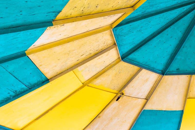 Supporto conico rotondo luminoso del tetto fotografia stock