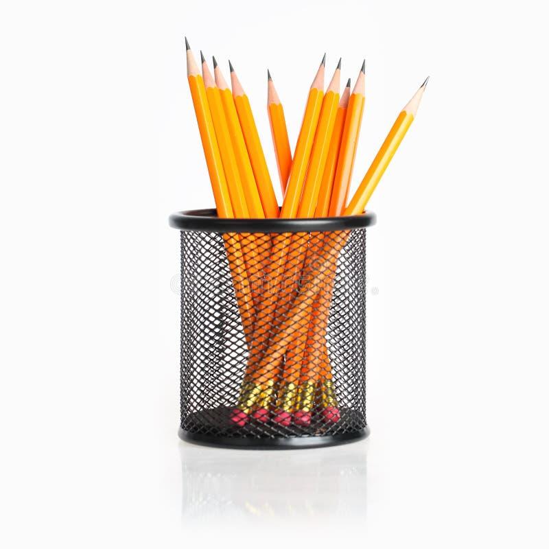 Supporto della matita immagini stock