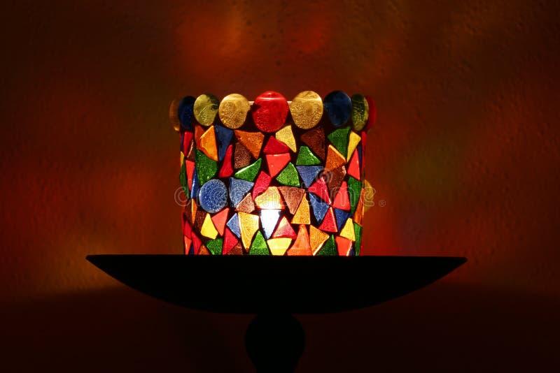 Supporto di candela decorativo immagini stock