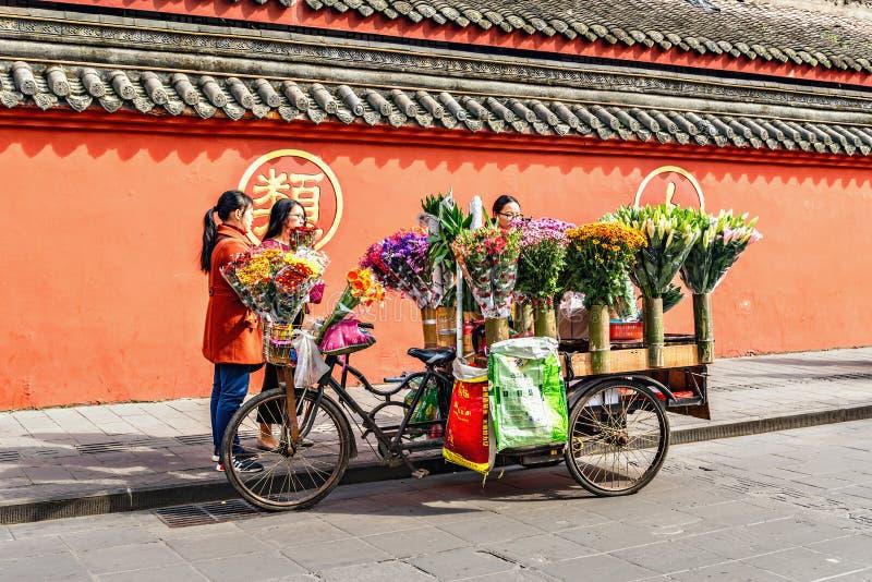 Supporto di commercio del fiore fotografia stock