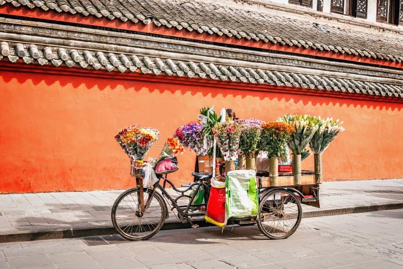 Supporto di commercio del fiore fotografia stock libera da diritti